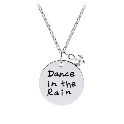 Charm pendant: Dance in the rain