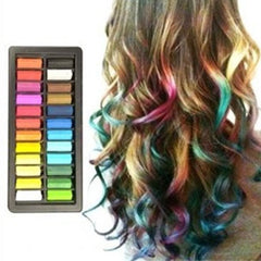 Easy-To-Use Press N Slide Color Hair Chalk