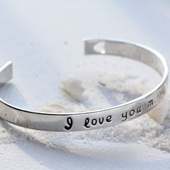 I Love You More Bangle - Assorted Colors