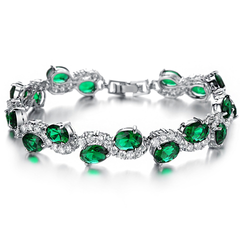 Green Emerald Exquisite Bracelet