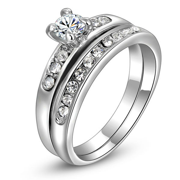 Two Circle Promise Ring