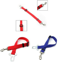 Pet Safety Adjustable Seat Belts