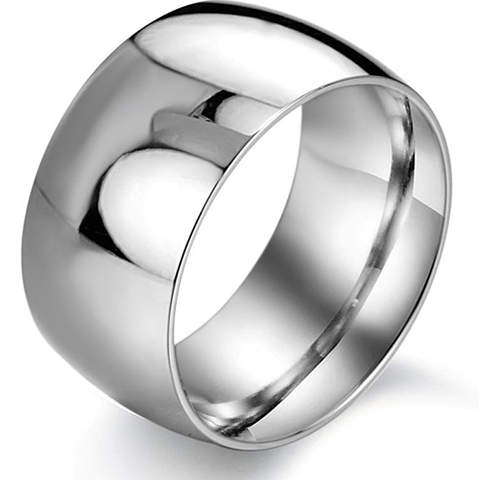 Simply Silver Men's Ring