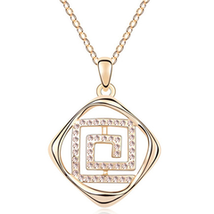 Florence Crystal Maze Pendant