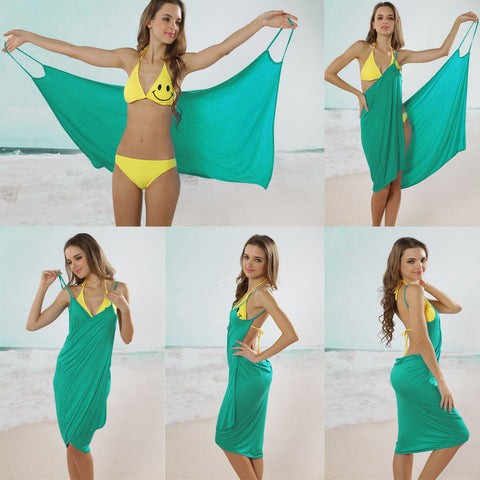 Bikini Wrap Dress - Assorted Colors
