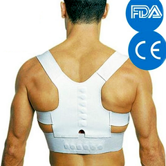 Men's Posture-Corrective Therapy Back Brace with Magnets