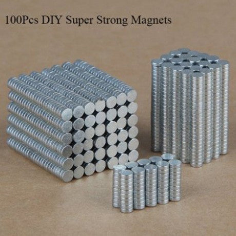 100Pcs Super Strong Magnets Rare Earth Magnet Set