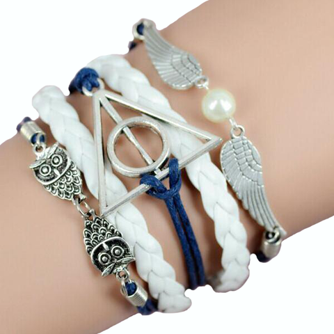 Blue Cleopatra Angel Wing