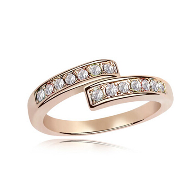 Open Heart Eternity Ring