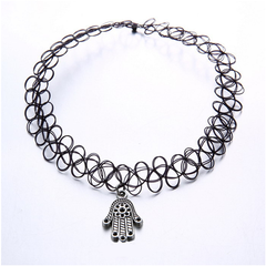 Retro Stretch Choker