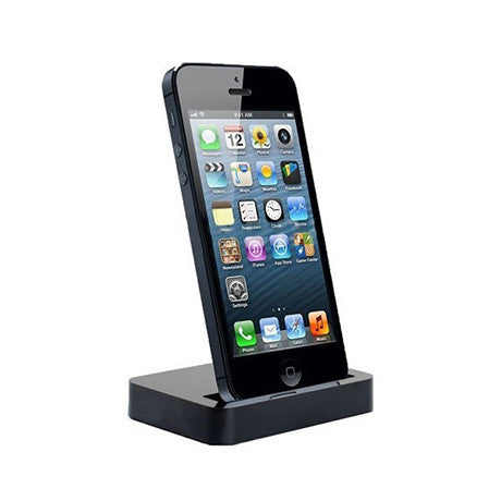Dock Station for iPhone 5/5S - Available in Black or White