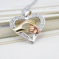 Mother's Hand Pendant