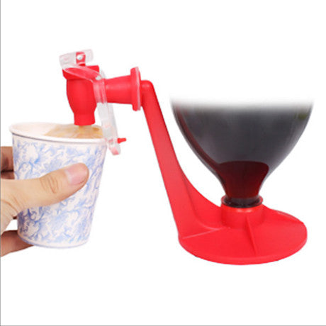 Soda Coke Fizz Saver Dispenser Switch Side Leakage Protection Drinking Device