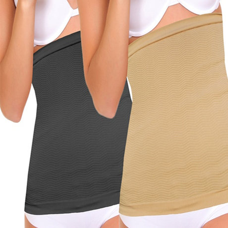 Double Wide Detox Stomach Wrap - Assorted Colors
