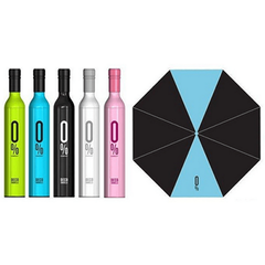 Wine Bottle-Shaped Umbrella - Assorted Colors