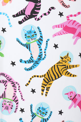 AstroKitty Crib Sheet
