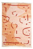 Abstract Vase Hand-Knotted Rug
