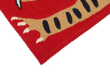 Cherry Tiger Thrills Rug