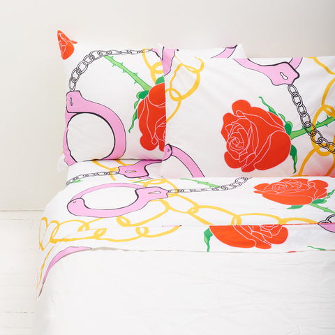 Kissed by a Rose Sheet Set