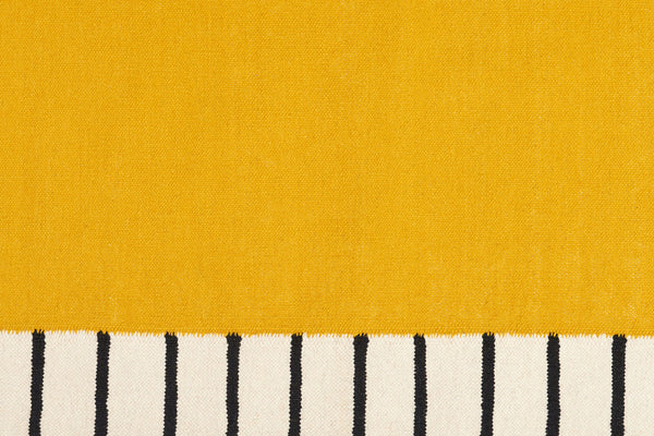 Suzanne Flat-Weave Rug, Yellow