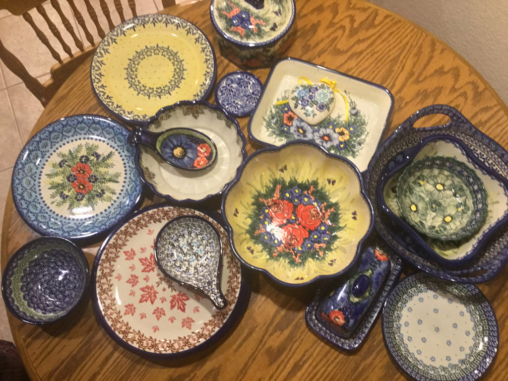 Moving your Polish Pottery to new digs