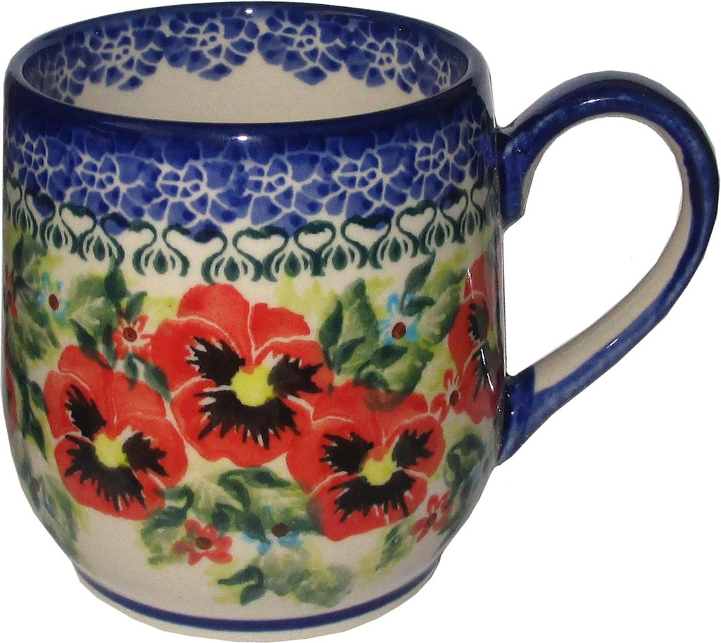 Waking up to coffee in your Polish Pottery Cup