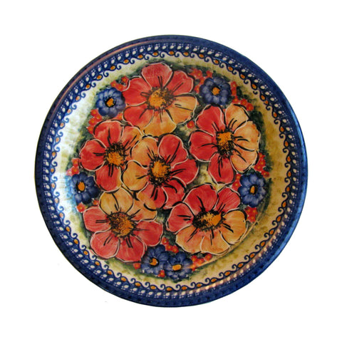 Eva's Collection exclusive Polish Pottery design style Flower Field