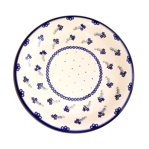 Eva's Collection exclusive Polish Pottery design style Forget-Me-Not