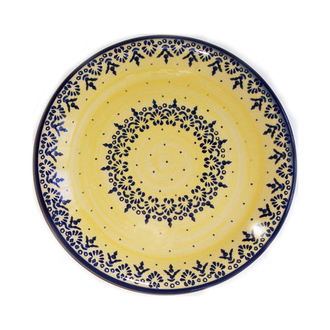 Eva's Collection exclusive Polish Pottery design style Lace