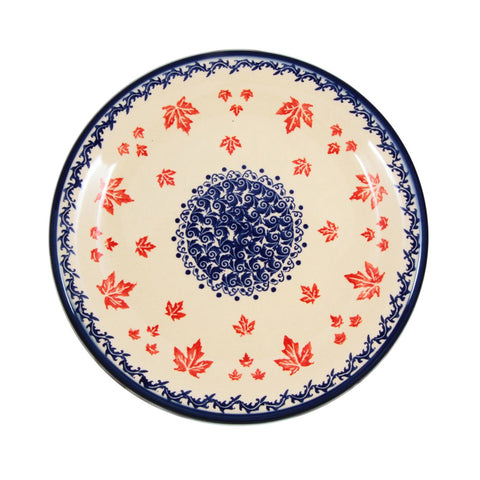 Eva's Collection exclusive Polish Pottery design style Maple Leaf