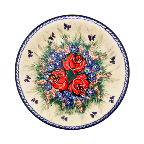 Eva's Collection exclusive Polish Pottery design style Wild Roses