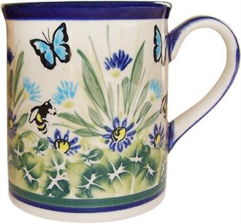 Polish Pottery Coffee or Tea MugSerenity