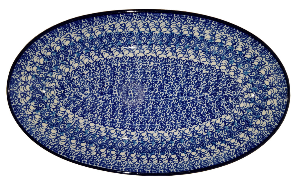 Boleslawiec Polish Pottery Medium Serving Platter 1488