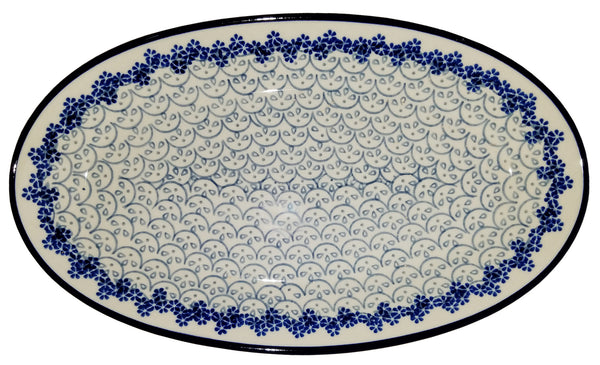 Boleslawiec Polish Pottery Medium Serving Platter 577
