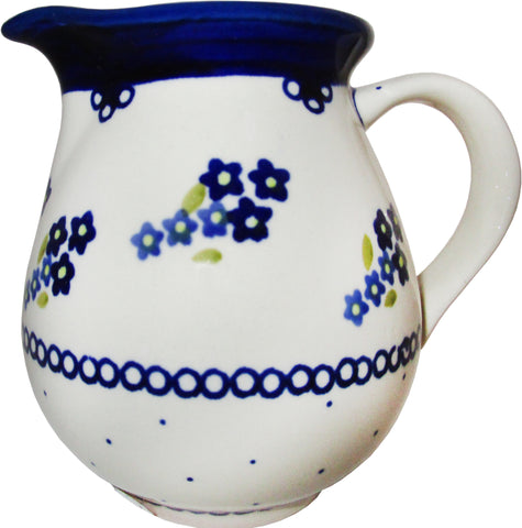 Boleslawiec Polish Pottery UNIKAT Medium Pitcher Water Jug