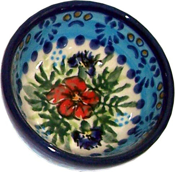"Boleslawiec Polish Pottery UNIKAT Mini Bowl ""Veronica"""