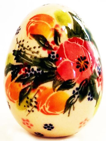 Boleslawiec Polish Pottery UNIKAT Easter Egg Decoration