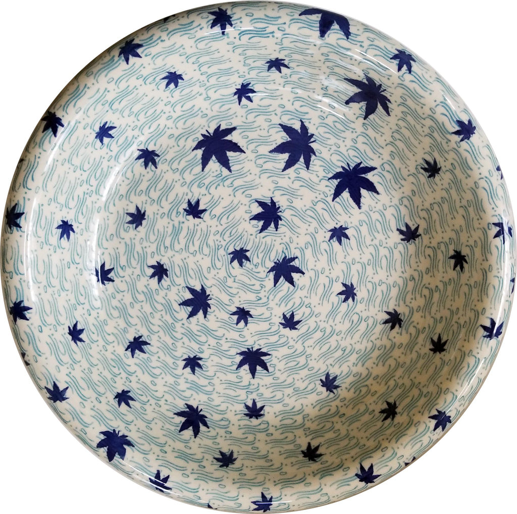 Boleslawiec Polish Pottery UNIKAT Large Serving Bowl 2564