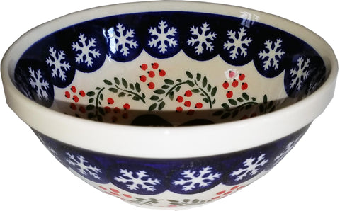 Boleslawiec Polish Pottery Cereal or Chili Serving Bowl