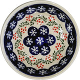 "Boleslawiec Polish Pottery Cereal or Chili Serving Bowl ""Red Berries"""
