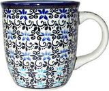Polish Pottery Coffee or Tea Mug Martina