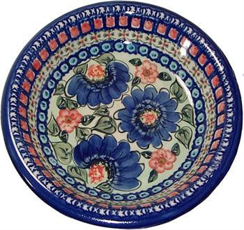 Polish Pottery Pasta or Soup PlatePatricia