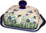 Polish Pottery Butter DishSerenity