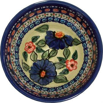 Boleslawiec Polish Pottery UNIKAT Cereal or Chili Bowl
