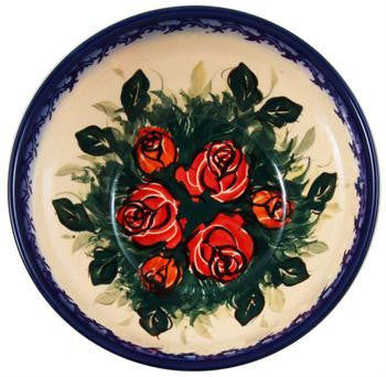 Boleslawiec Polish Pottery UNIKAT Cereal, Salad or Chili Bowl
