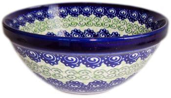 Polish Pottery Cereal or Soup BowlAlex