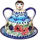 Polish Pottery Cheese LadyVeronica