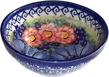Boleslawiec Polish Pottery UNIKAT Ice Cream or Condiment Bowl