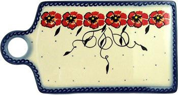 Boleslawiec Polish Pottery UNIKAT Cutting or Cheese Board