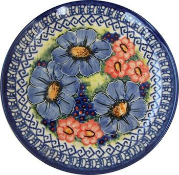 Boleslawiec Polish Pottery UNIKAT Breakfast or Dessert Plate